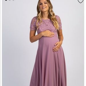 Pinkblush Maternity Gown